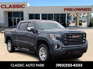 Certified Pre-owned 2019 GMC Sierra 1500 AT4 Truck Crew Cab for sale or lease in Texarkana, TX
