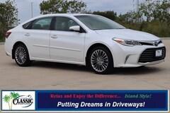 Certified 2016 Toyota Avalon Sedan in Galveston, TX