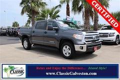 Certified 2017 Toyota Tundra SR5 5.7L V8 w/FFV Truck CrewMax in Galveston, TX