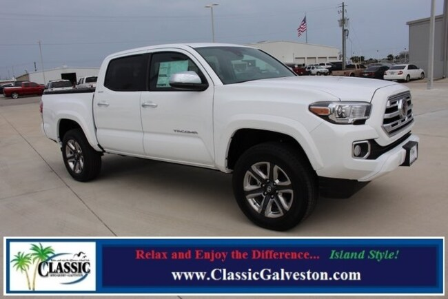 New 2019 Toyota Tacoma Limited V6 Truck Double Cab in Galveston, TX