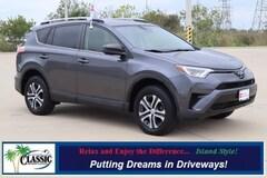Certified 2018 Toyota RAV4 LE SUV in Galveston, TX