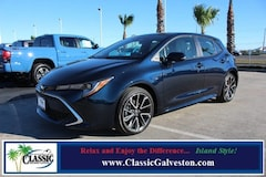 New 2019 Toyota Corolla Hatchback XSE Hatchback in Galveston, TX