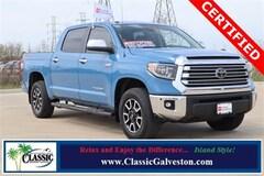 Certified 2018 Toyota Tundra Limited 5.7L V8 w/FFV Truck CrewMax in Galveston, TX