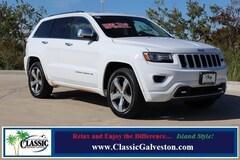 Used 2014 Jeep Grand Cherokee Overland 4x4 SUV in Galveston, TX