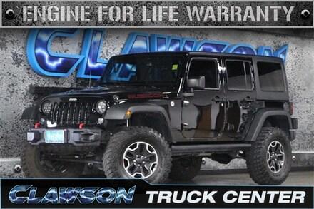 2016 Jeep Wrangler JK Unlimited Unlimited Rubicon SUV