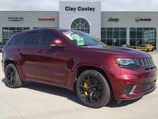 New 2018 Jeep Grand Cherokee TRACKHAWK 4X4 Sport Utility Irving, TX