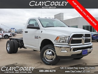 New 2018 Ram 3500 Chassis Tradesman/SLT Truck Regular Cab Irving, TX