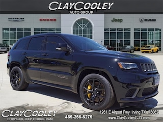 New 2018 Jeep Grand Cherokee TRACKHAWK 4X4 Sport Utility Irving, TX