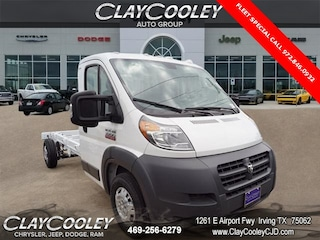New 2018 Ram ProMaster 3500 CHASSIS CAB 159 WB EXT / 104 CA Extended Irving, TX