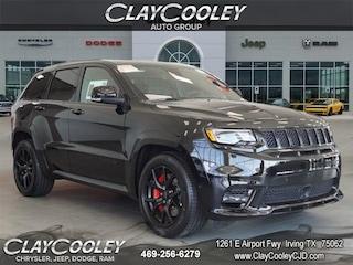 New 2018 Jeep Grand Cherokee SRT 4X4 Sport Utility Irving, TX