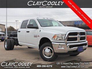 New 2018 Ram 3500 TRADESMAN CREW CAB CHASSIS 4X2 172.4 WB Crew Cab Irving, TX
