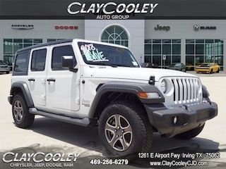 New 2018 Jeep Wrangler UNLIMITED SPORT S 4X4 Sport Utility Irving, TX