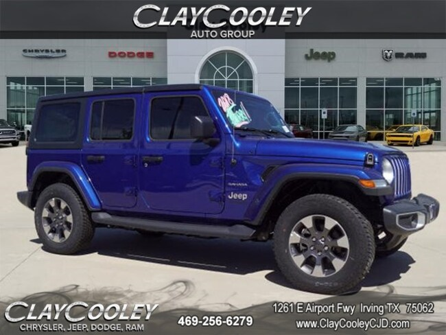New 2018 Jeep Wrangler UNLIMITED SAHARA 4X4 Sport Utility Irving TX