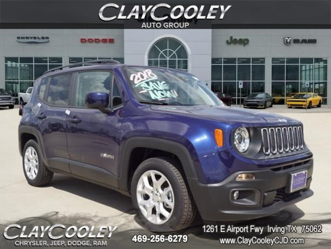 New 2018 Jeep Renegade LATITUDE 4X2 Sport Utility Irving TX