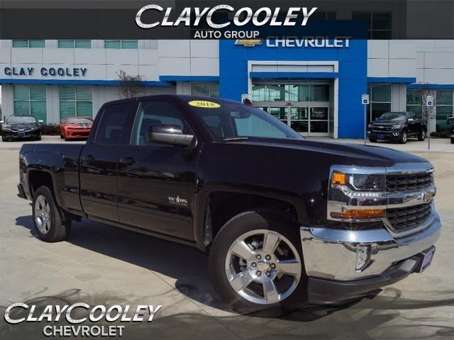Used 2018 Chevrolet Silverado 1500 LT w/1LT Truck Double Cab Irving, TX