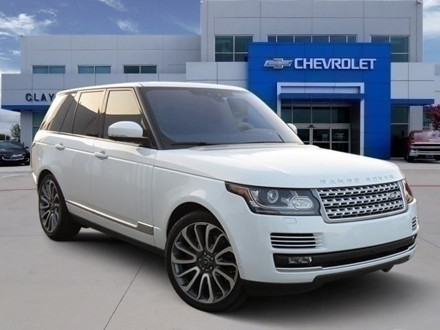 Used 2017 Land Rover Range Rover 5.0L V8 Supercharged Autobiography SUV Irving, TX
