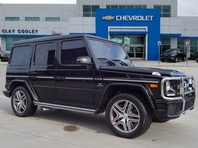 Used 2016 Mercedes-Benz AMG G G63 4MATIC SUV Irving, TX