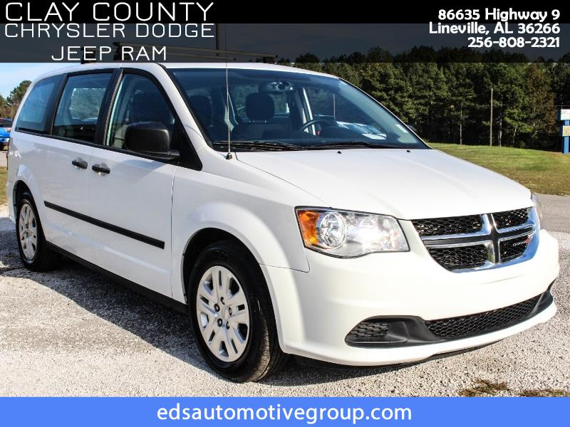 2015 Dodge Grand Caravan AVP/SE Van
