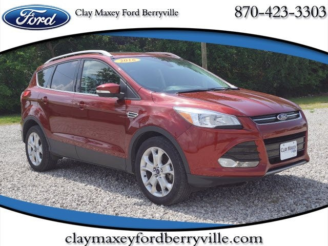 Used 2016 Ford Escape For Sale At Clay Maxey Ford Of