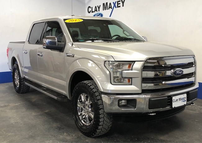 2015 Ford F-150 Lariat 4WD SuperCrew 145 Lariat