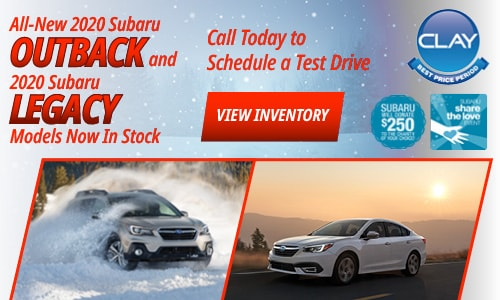 All-New 2020 Subaru Outback and 2020 Subaru Legacy Models Now In Stock