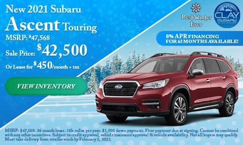 New 2021 Subaru Ascent Touring