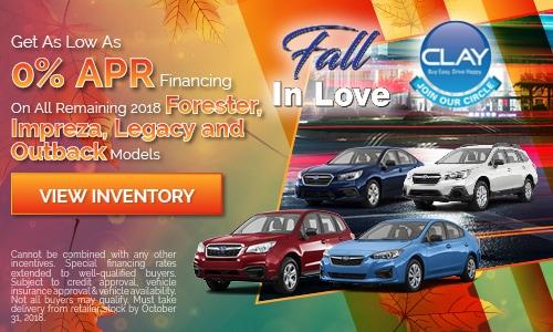 2018 Model Financing Offer
