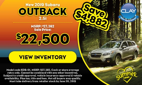 2019 Subaru Outback - June