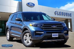 New 2020 Ford Explorer XLT SUV X92835 for sale in Cleburne, TX