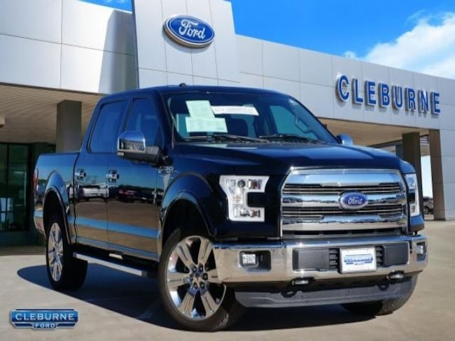 2016 Ford F-150 Lariat Truck SuperCrew Cab for sale in Cleburne