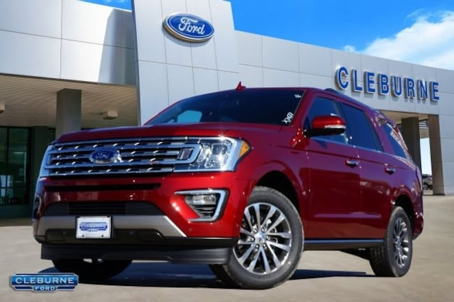 New 2018 Ford Expedition Limited SUV in Cleburne, TX