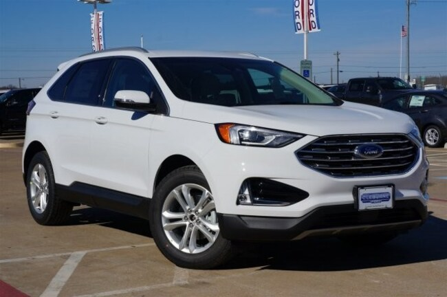 New 2019 Ford Edge SEL Crossover in Cleburne, TX