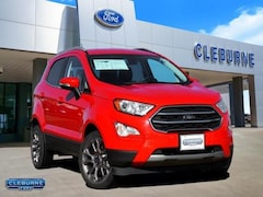2019 Ford EcoSport Titanium SUV for sale in Cleburne, TX
