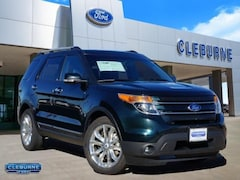 2015 Ford Explorer Limited SUV for sale in Cleburne, TX