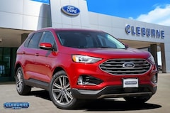 New 2020 Ford Edge Titanium Crossover G54538 for sale in Cleburne, TX
