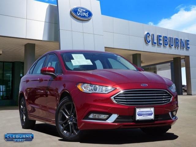 2018 Ford Fusion S Sedan