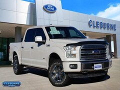 2016 Ford F-150 Limited Truck SuperCrew Cab for sale in Cleburne, TX
