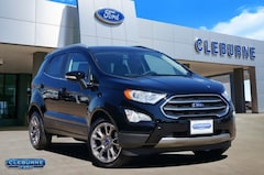 New 2019 Ford EcoSport Titanium Crossover EC97466 for sale in Cleburne, TX