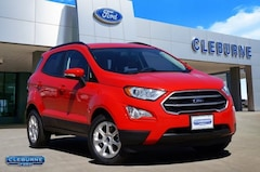 New 2019 Ford EcoSport SE Crossover EC04558 for sale in Cleburne, TX