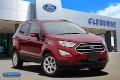 New 2020 Ford EcoSport SE Crossover EC18155 for sale in Cleburne, TX