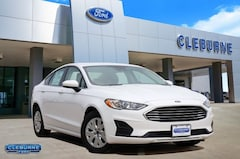 New 2019 Ford Fusion S Sedan H98524 for sale in Cleburne, TX