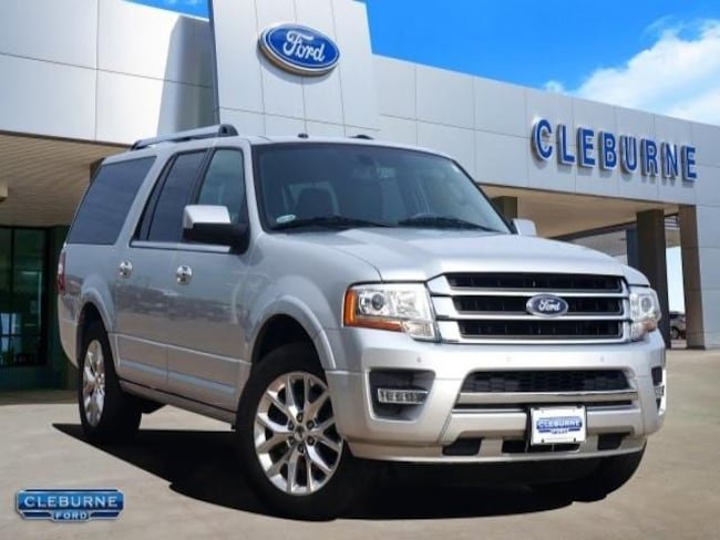 2015 Ford Expedition EL Limited SUV for sale in Cleburne