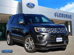 2019 Ford Explorer Limited SUV for sale in Cleburne, TX