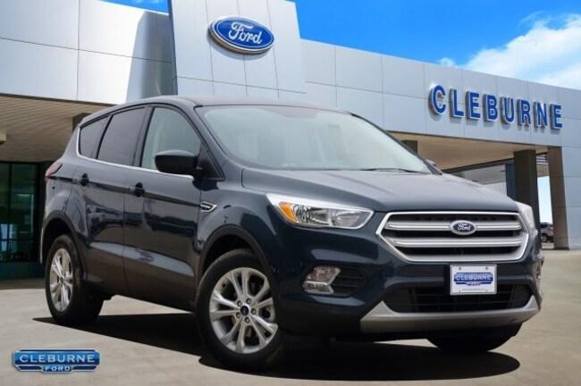 New 2019 Ford Escape SE SUV in Cleburne, TX