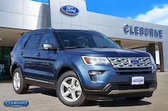New 2019 Ford Explorer XLT SUV X08140 for sale in Cleburne, TX