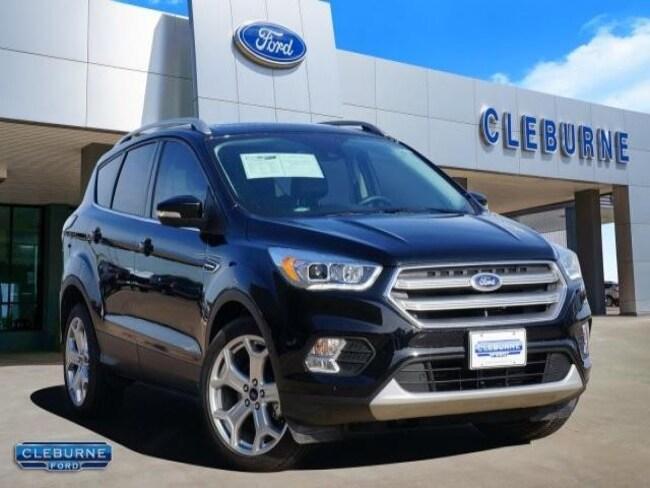 2017 Ford Escape Titanium SUV for sale in Cleburne, TX