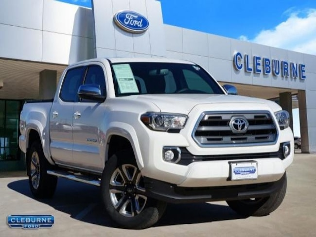 2016 Toyota Tacoma Limited Truck Double Cab for sale in Cleburne