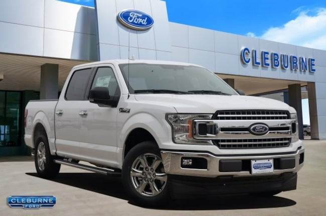 New 2018 Ford F-150 XLT Truck in Cleburne, TX