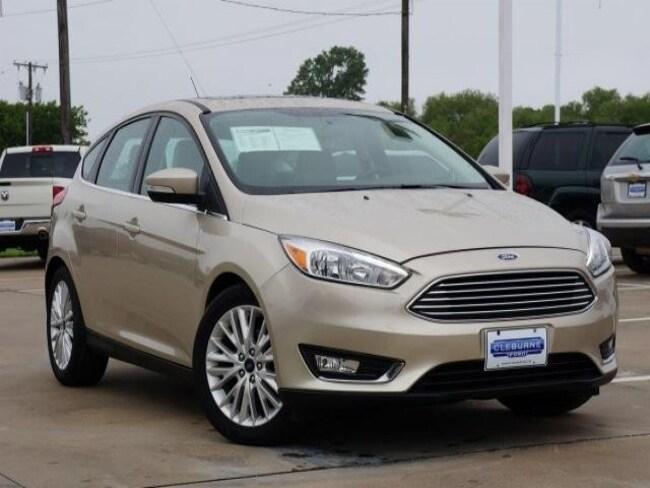 2018 Ford Focus Titanium Hatchback for sale in Cleburne, TX