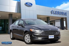 New 2019 Ford Fusion S Sedan H71063 for sale in Cleburne, TX